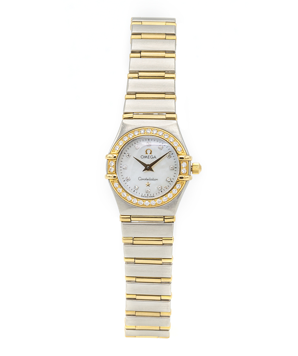 Damenuhr Omega Constellation Mother of Pearl Ref: 123.25.24.60.55.005