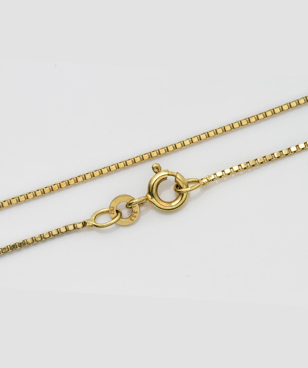 Halskette Venezianermuster 333er Gold