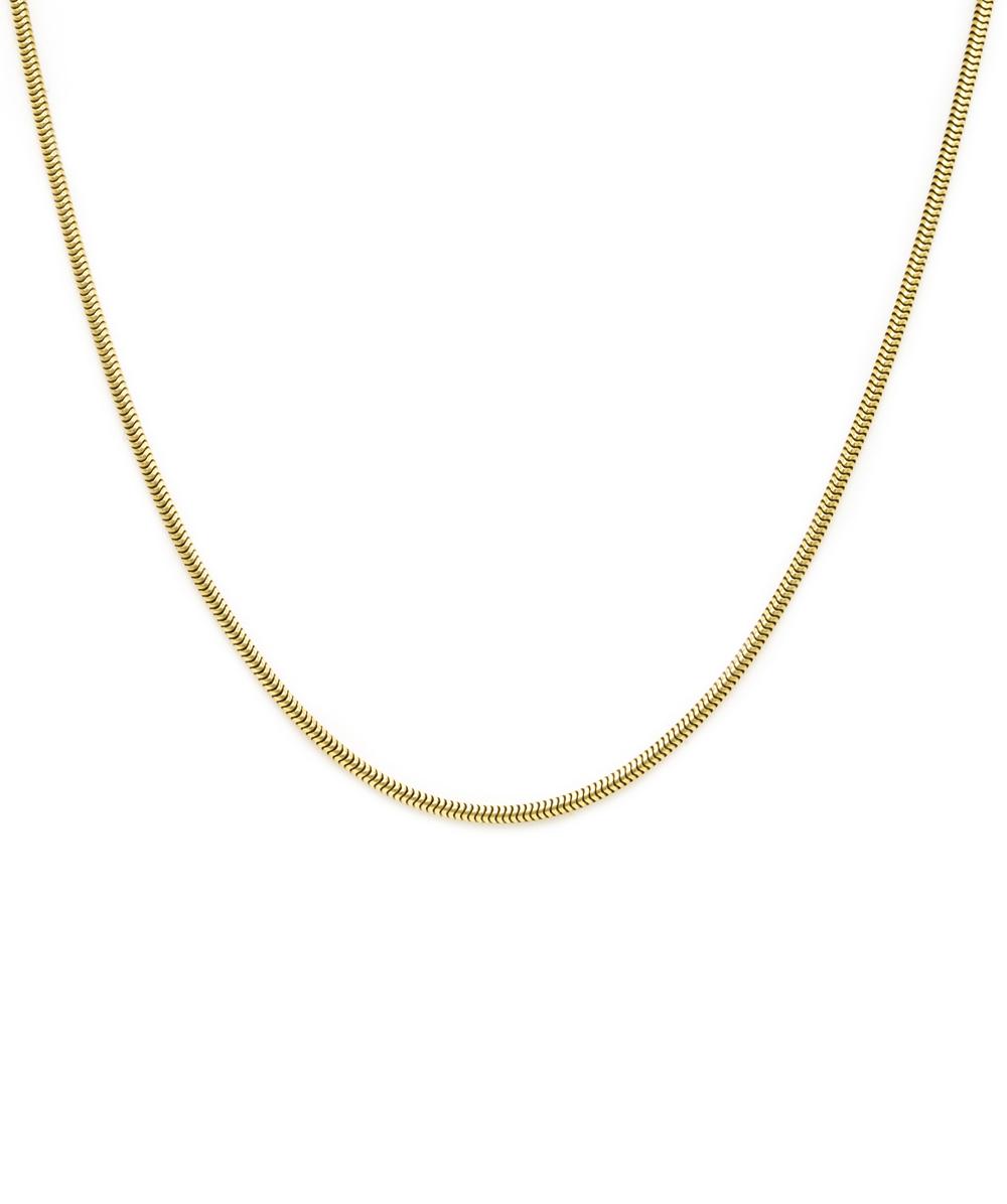 Kette Schlange 585er Gold