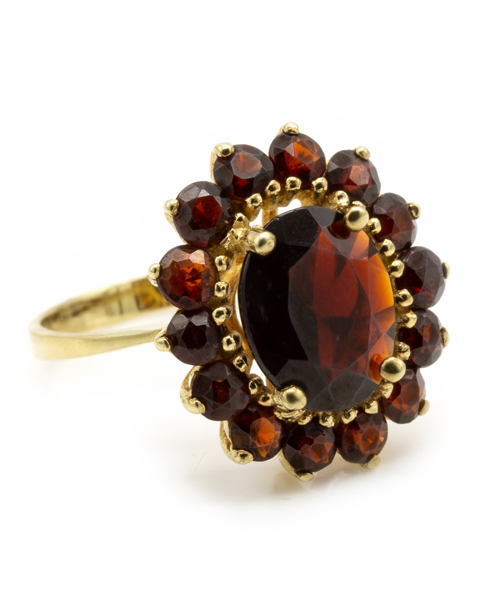 Ring Brillant 750er Gelbgold