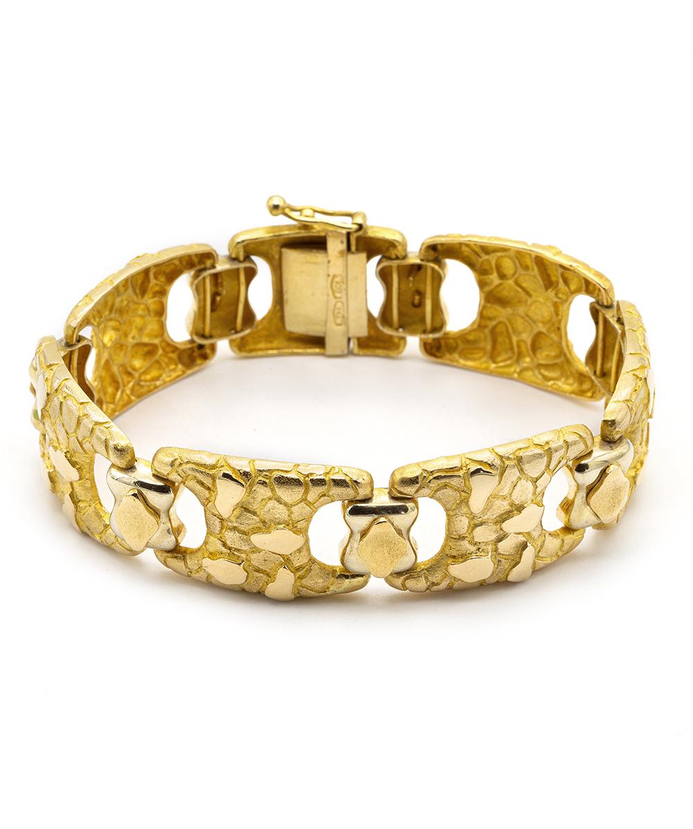 Armband 750er Gelbgold