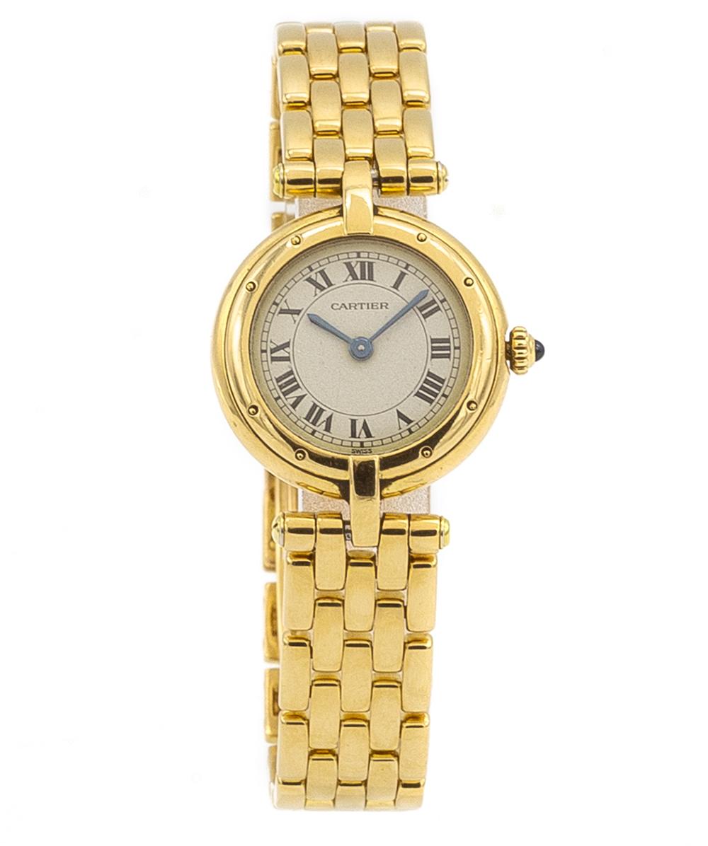 Damenuhr Cartier Panthere 750er Gold