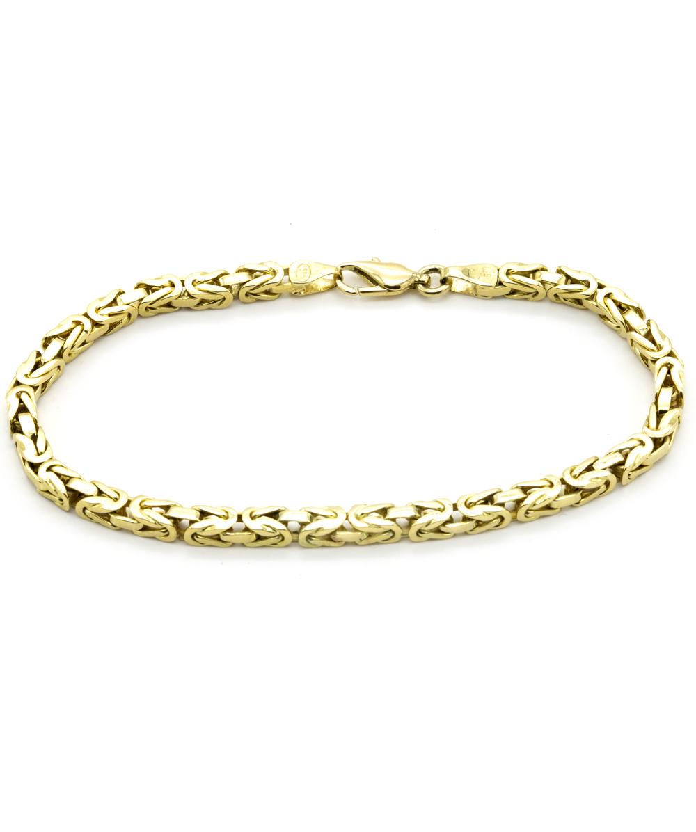 Armband Königsmuster 585er Gelbgold