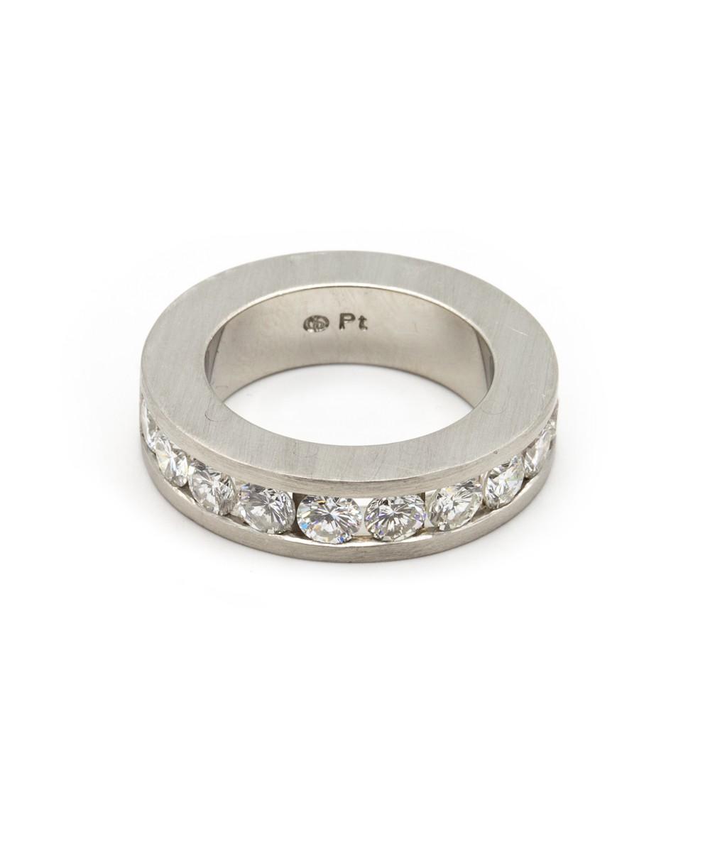Ring Brillanten 950er Platin