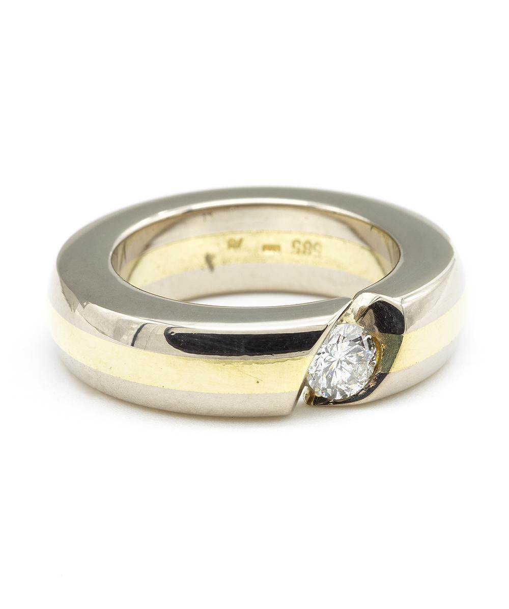585er Bicolor Ring