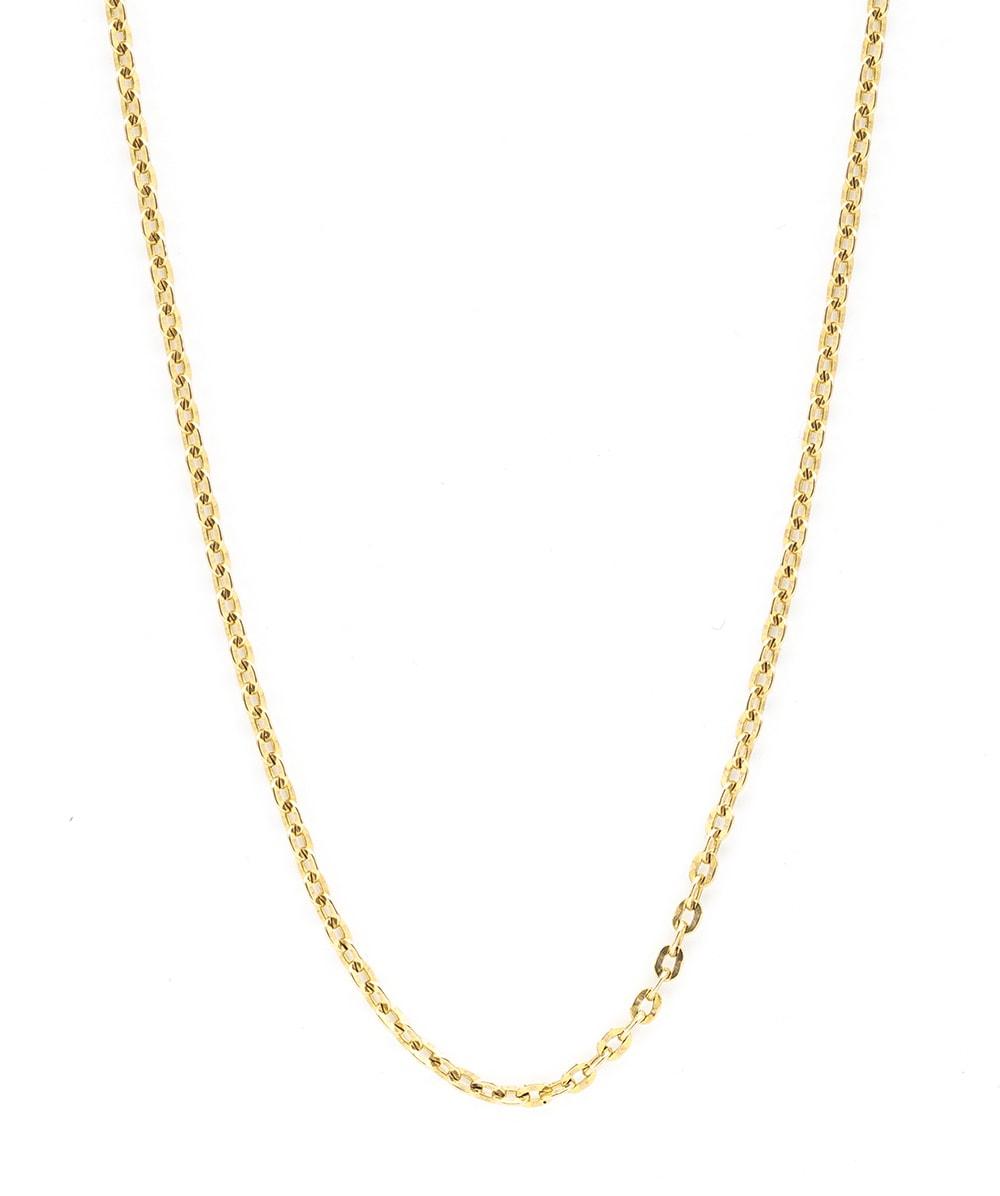 Kette mit Anker Muster 585er Gold