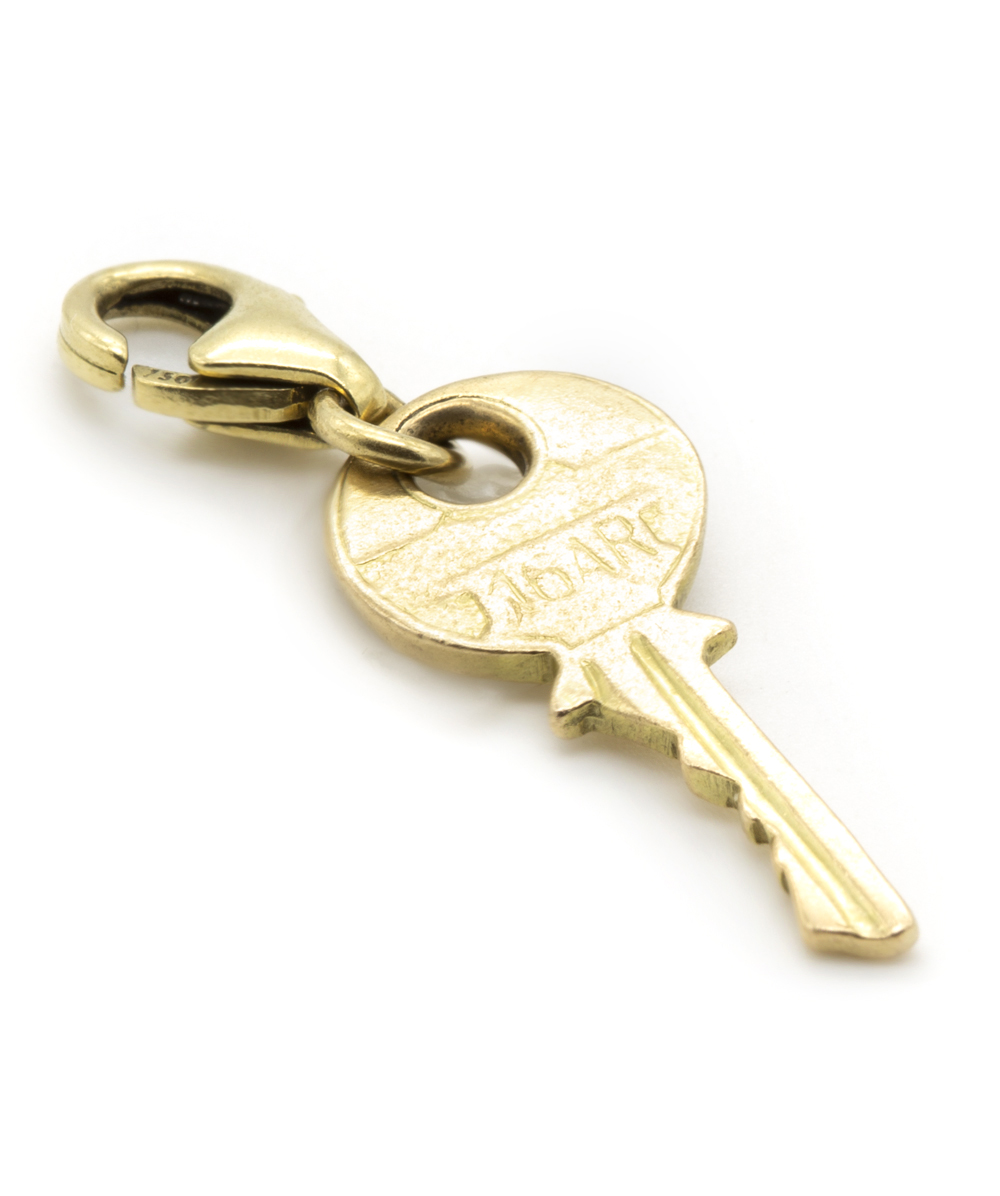 Anhänger Schlüssel 750er Gold