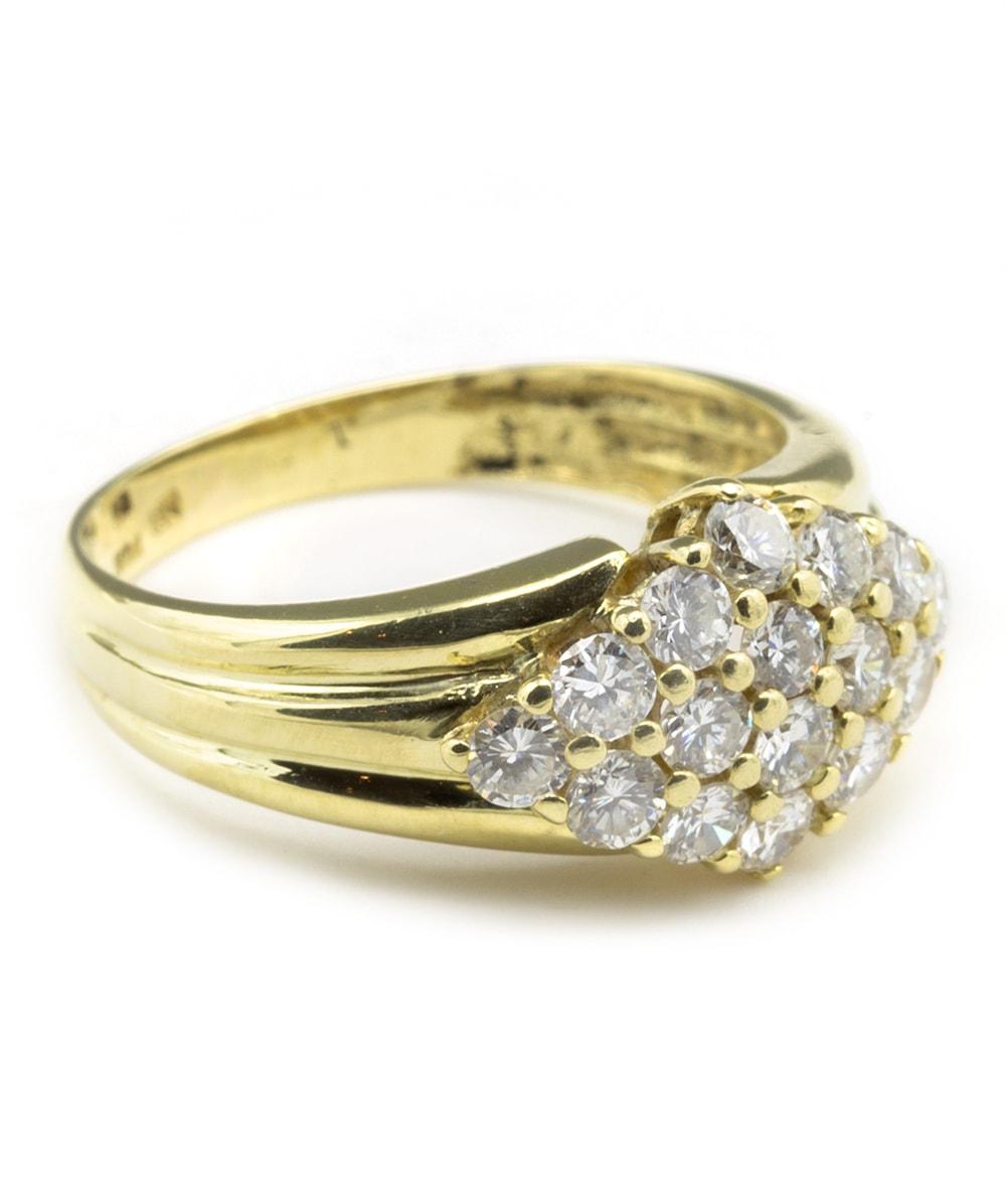Ring mit Brillanten 585er Gold