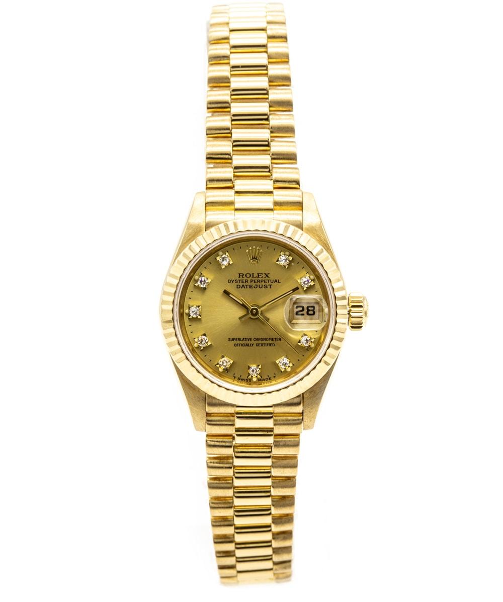 Rolex Datejust Vollgold REF: 69178