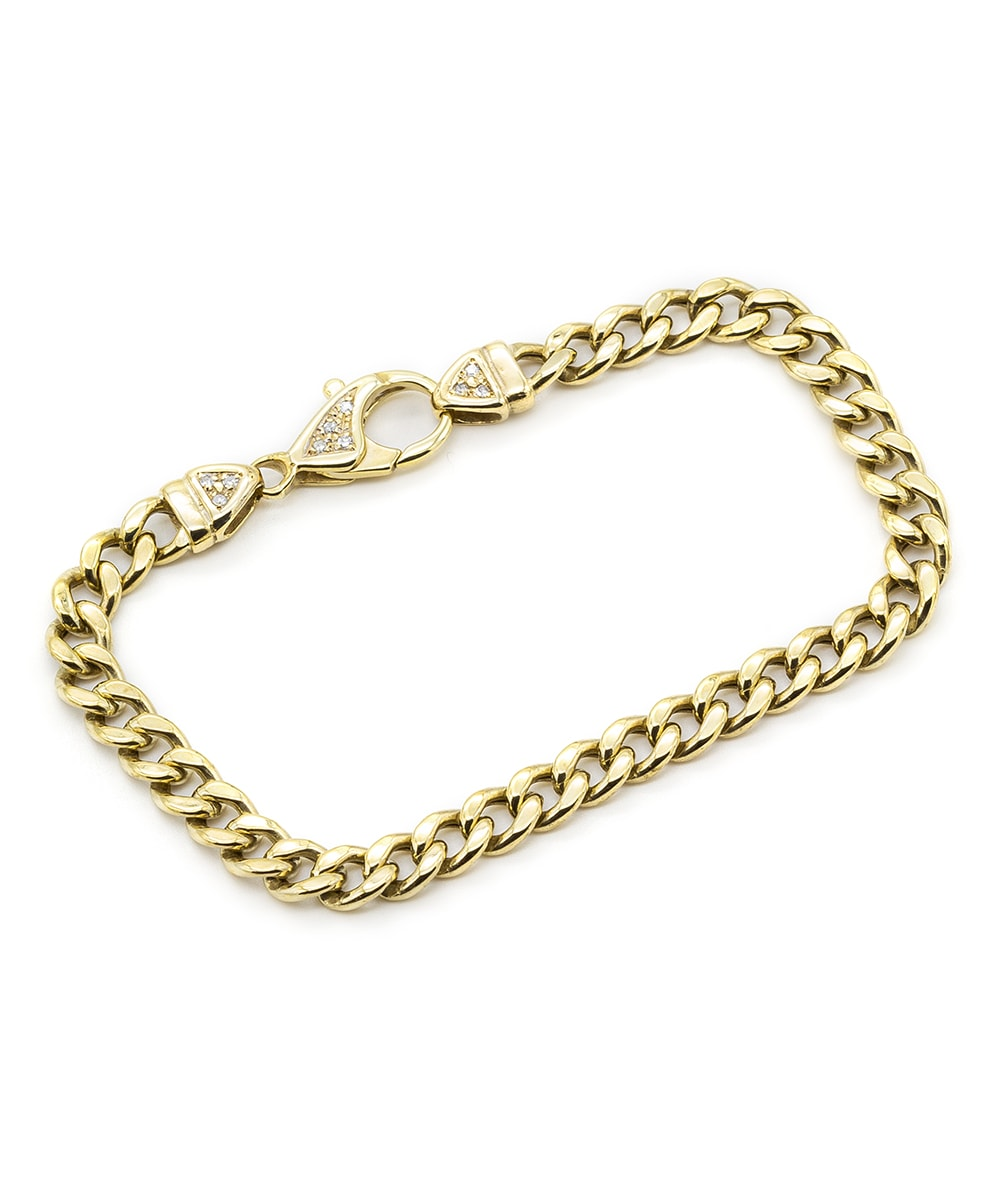 Armband mit Diamanten 333er Gold