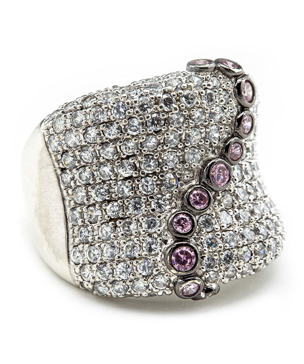 Ring mit Zirkonia 925er Silber