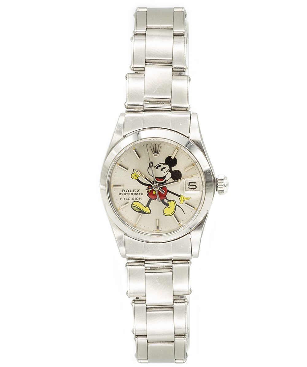Rolex Oysterdate Mickey Mouse REF:6466