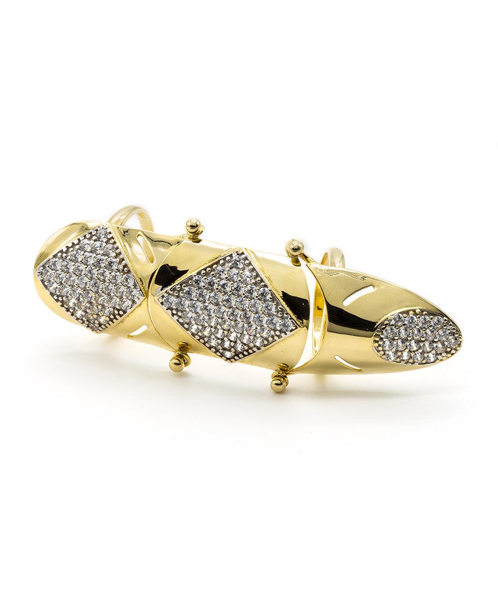 Ring 585er Gold Bicolor