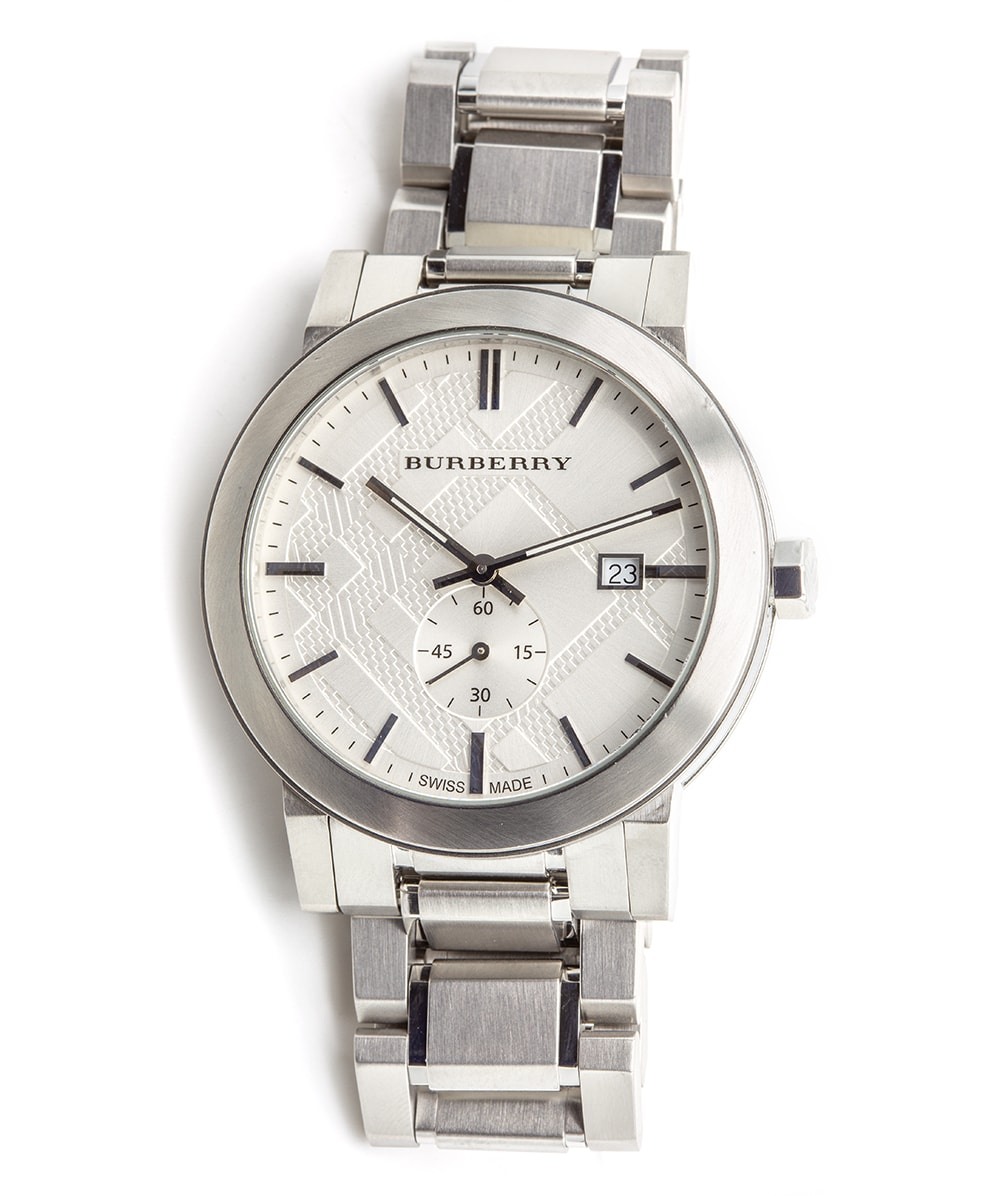 Damenuhr Burberry The City Silver Dial Stainless | Ref: Bu9900