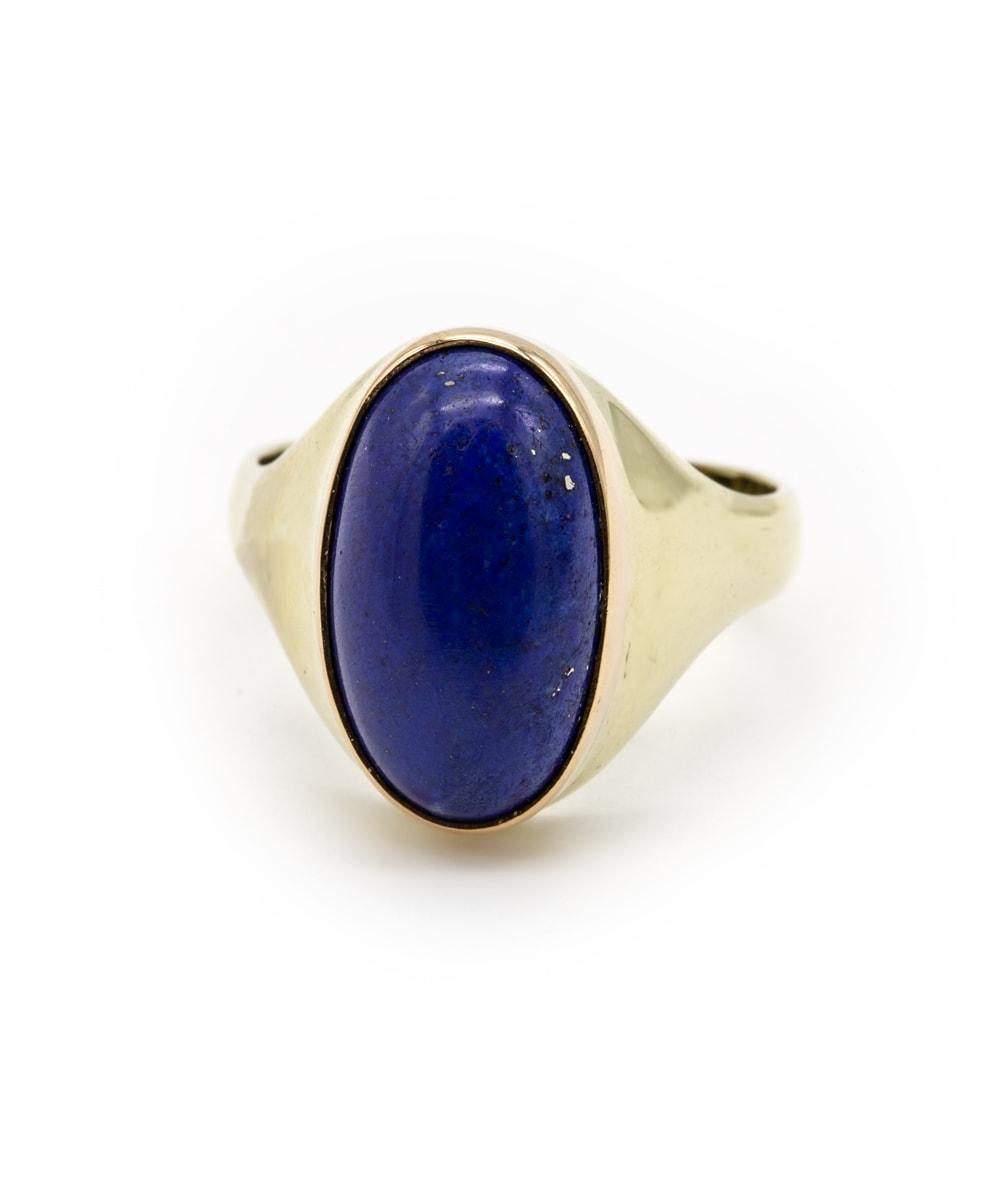 Ring Lapis 585er Gelbgold