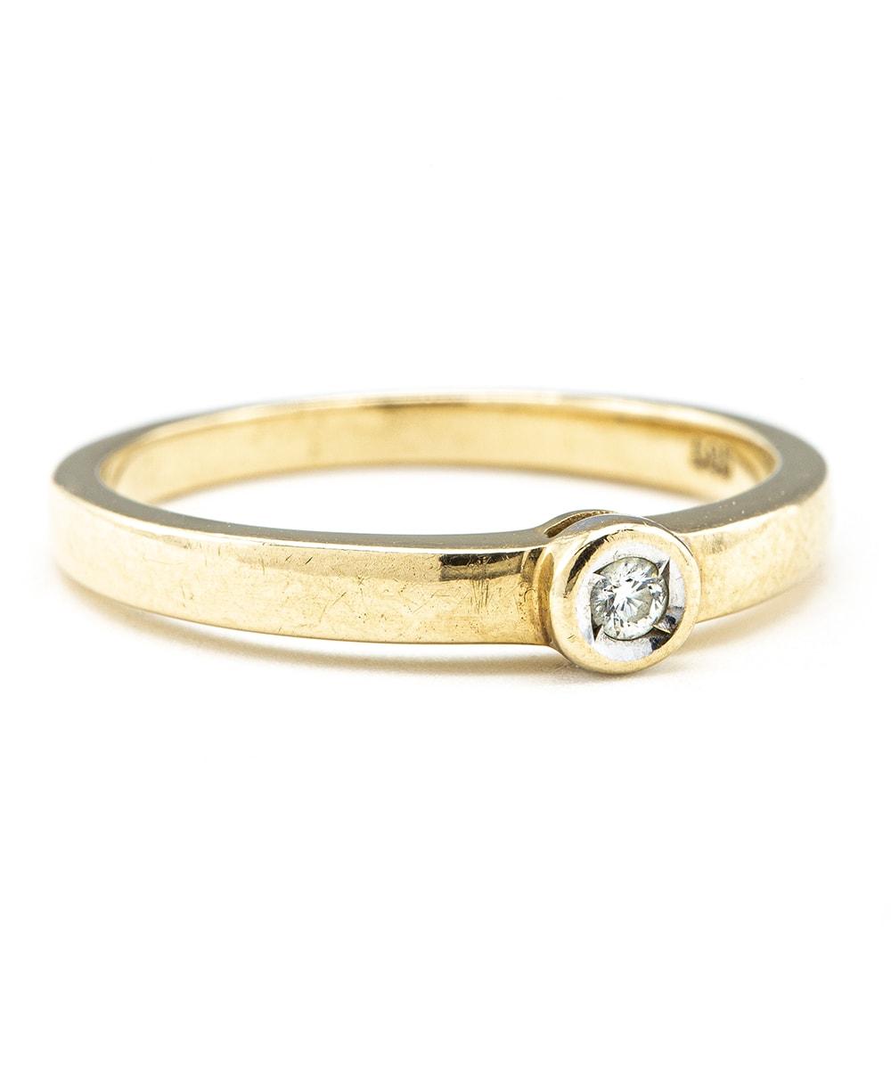 585er Gold Ring
