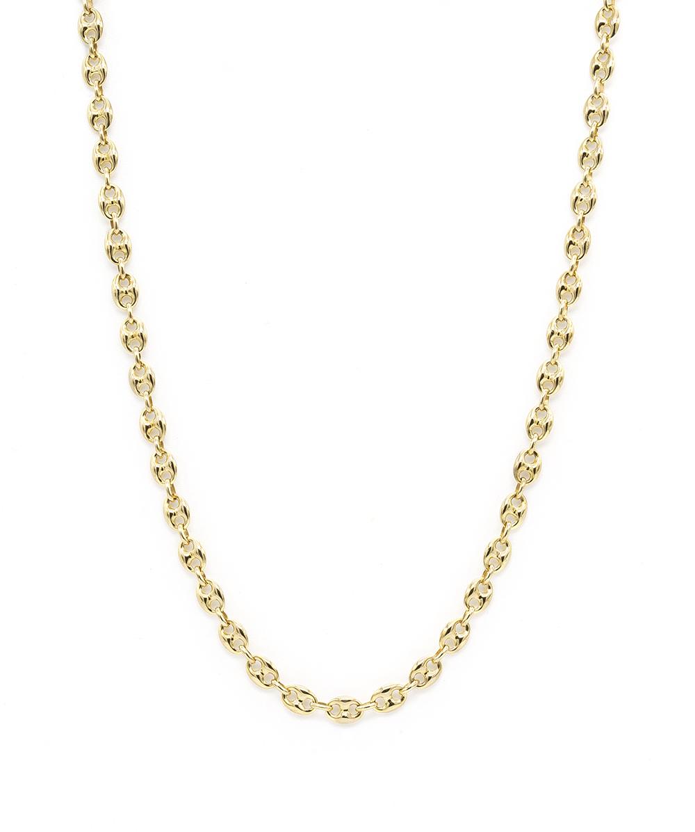 Halskette 333er Gelbgold