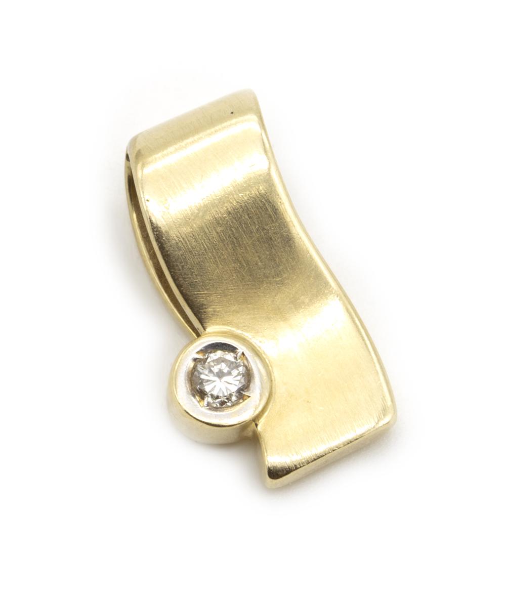 Anhänger Brillantsolitär 585er Gold