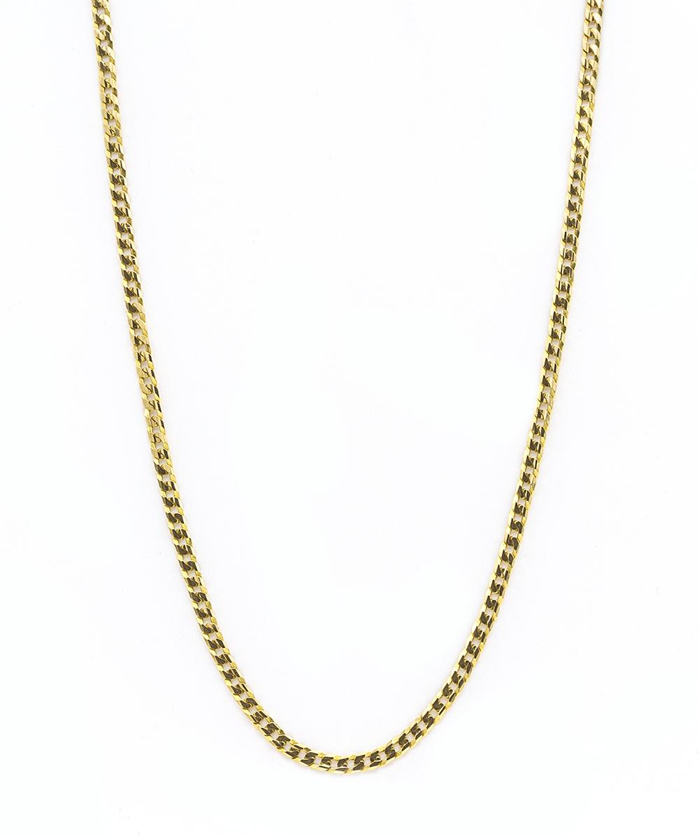 Halskette 750er Gelbgold