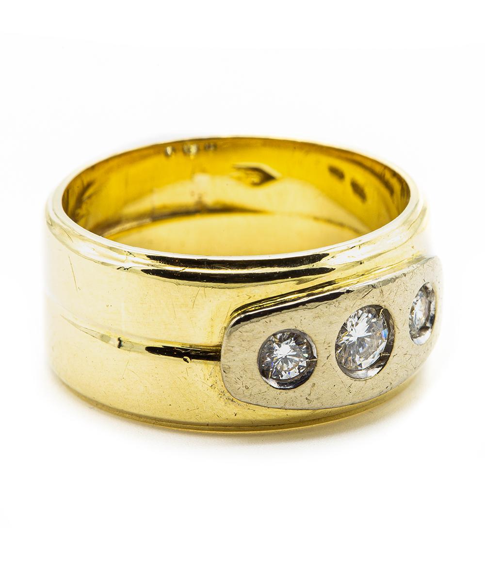 Ring mit Brillant 585er Gold