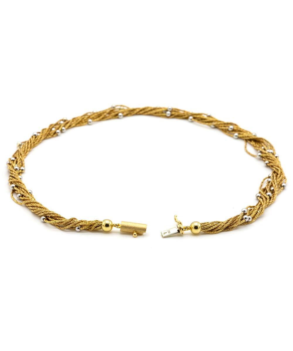 Halskette 750er Gold
