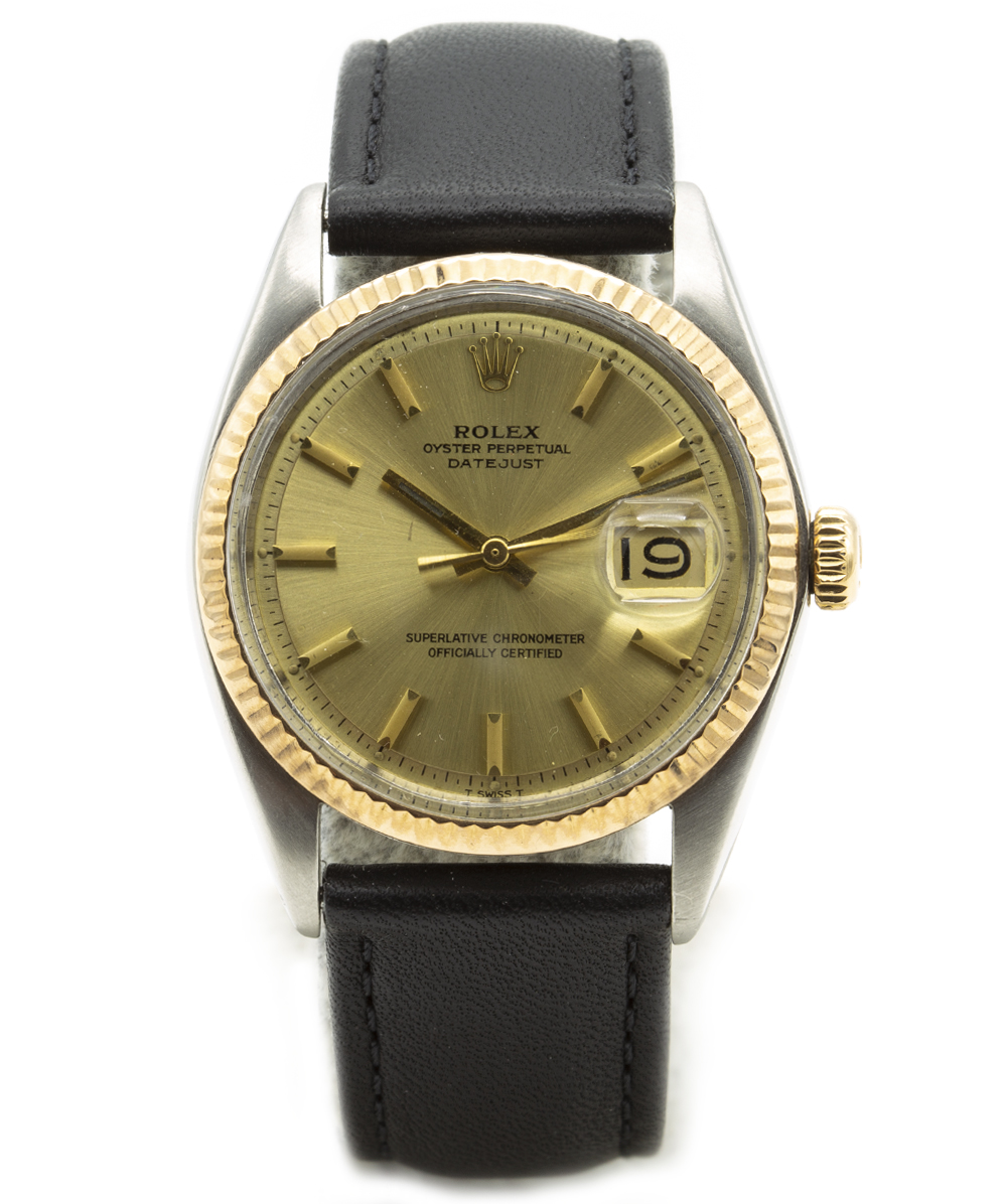 Rolex Date Just Stahl/Gold