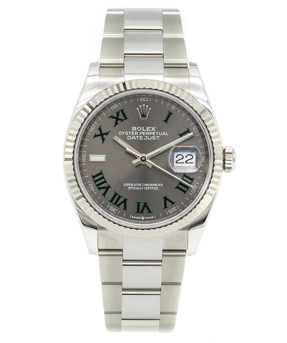 Rolex Date Just Wimbledon 36mm Referenz: 126334