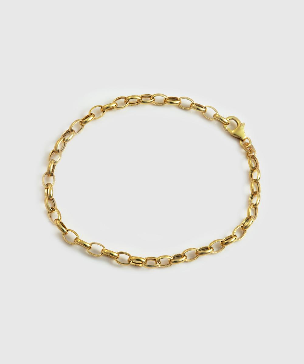 Armband Erbsenmuster 333er Gold