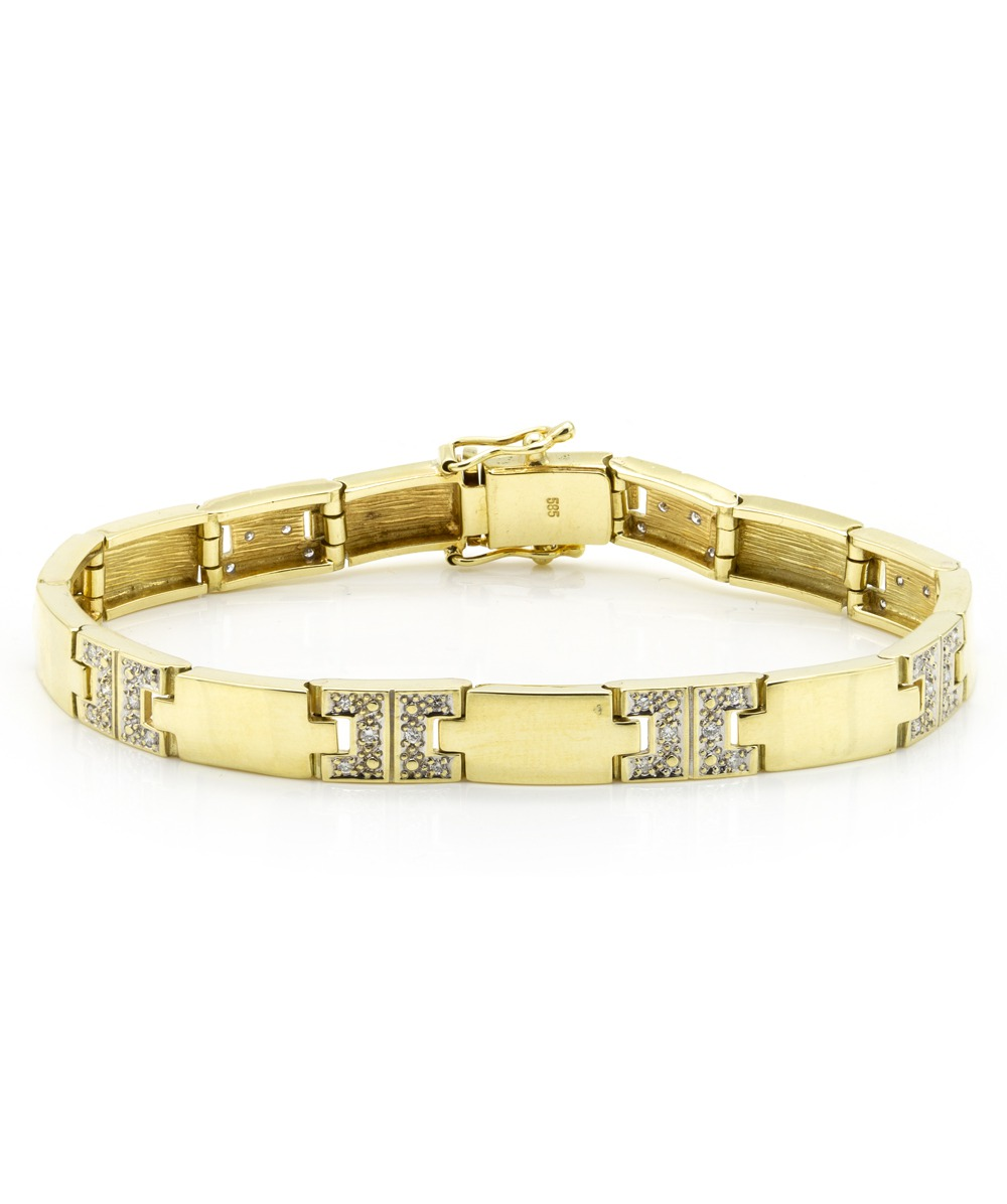 Armband Brillant 585er Gold