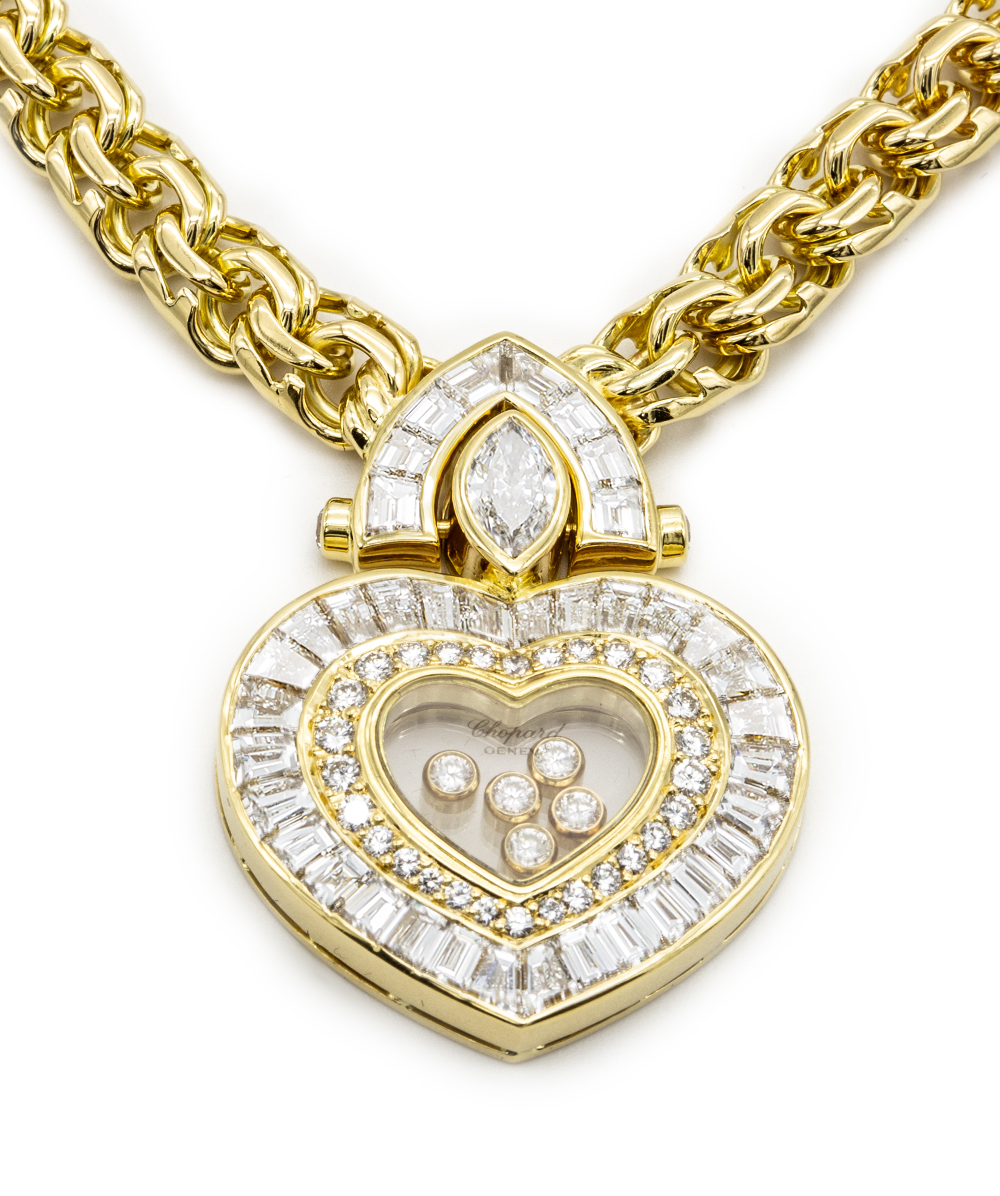 "Chopard Collier ""Happy Diamonds"" 750er Gold"