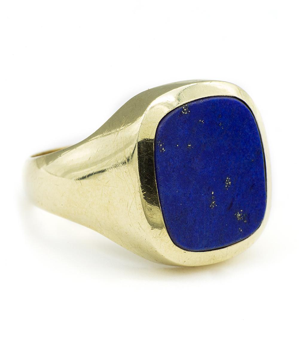 Ring mit Lapis 585er Gold