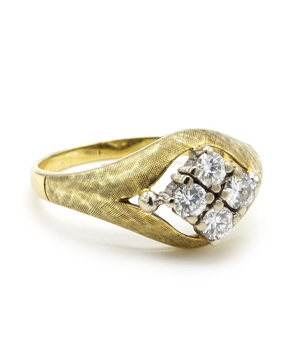 Brillant Ring 585er Gelbgold