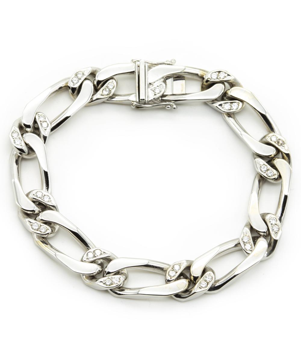Armband Brillant 585er Weißgold