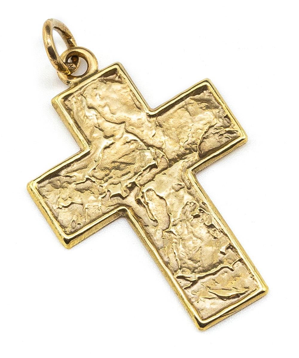 Kreuzanhänger 333er Gold