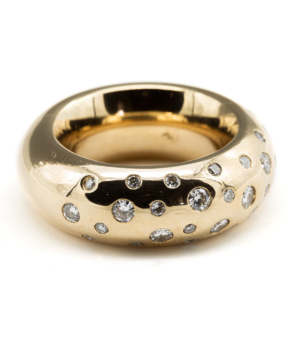 Ring mit Brillanten 750er Gold