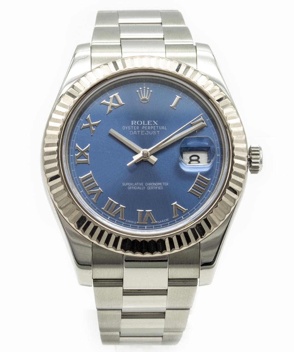 Rolex Herrenuhr Stahl Datejust  Ref. 116334