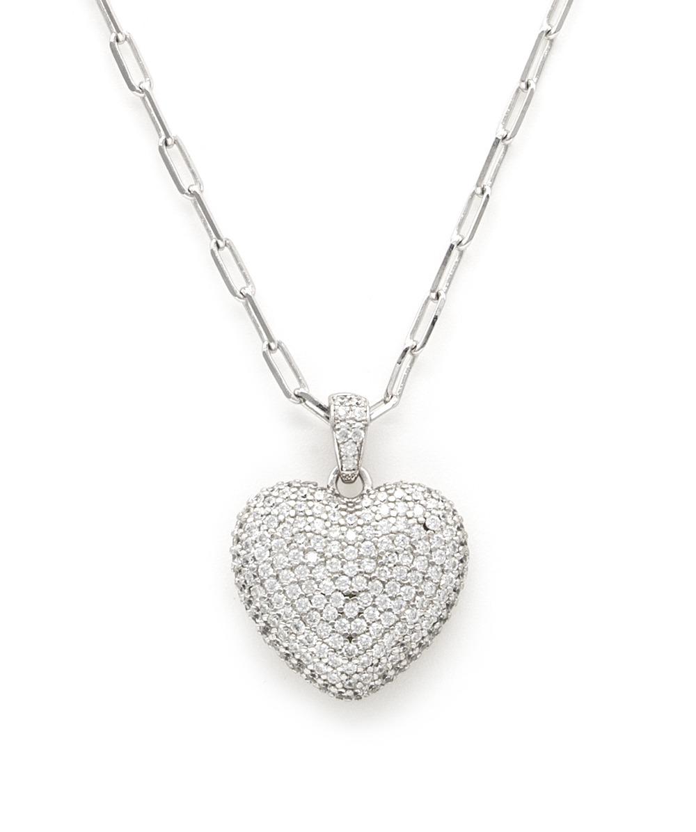 Halskette  Herzanhänger 925er Silber
