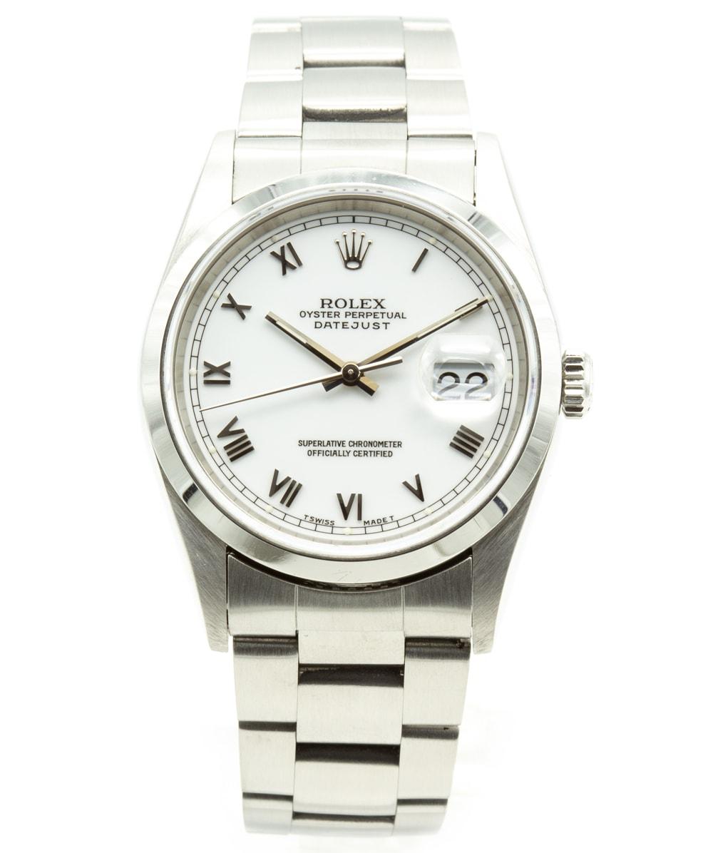 Rolex Datejust Stahl REF: 16200