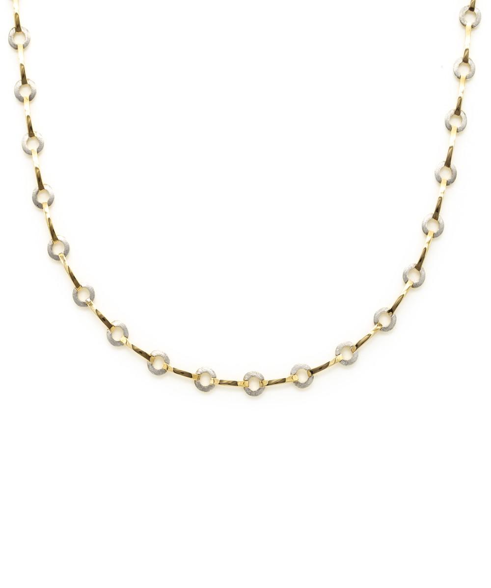 Halskette 333er Gold bicolor