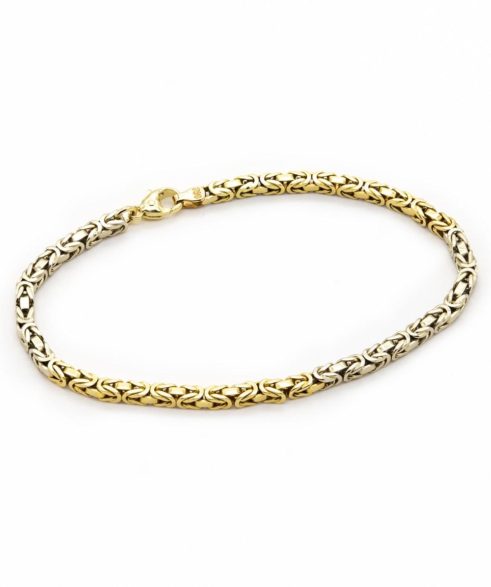Armband Königsmuster 750er Gold
