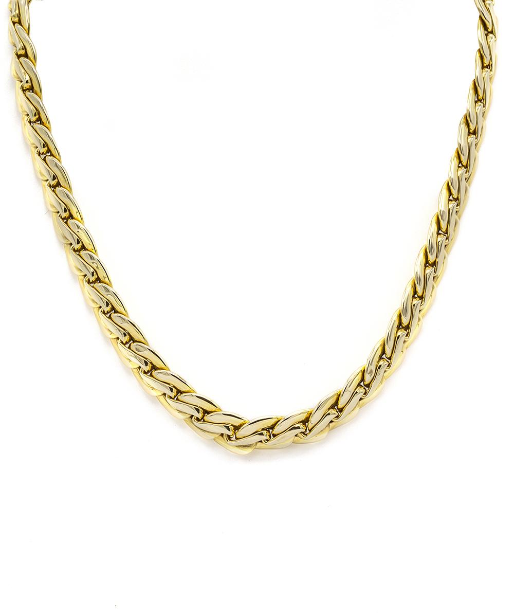 Halskette 585er Gelbgold