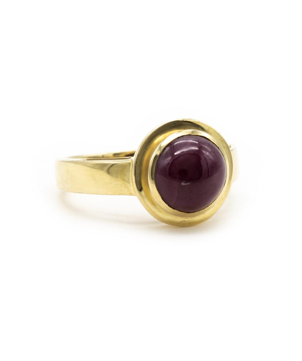 Ring Farbstein 585er Gold