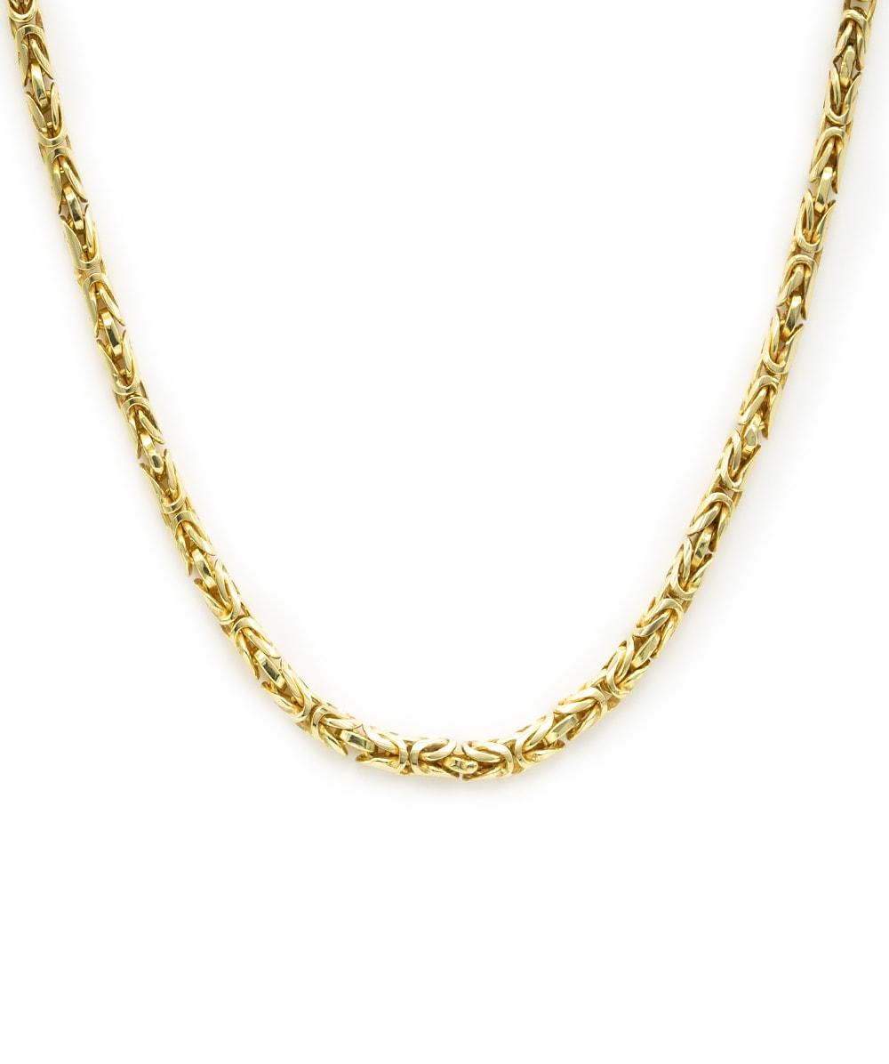 Königskette 585er Gelbgold