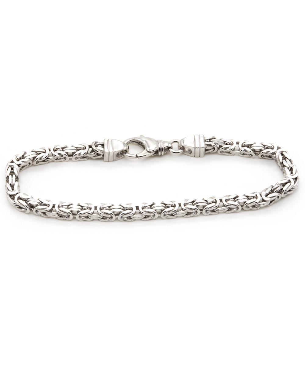 Armband Königsmuster 925er Silber