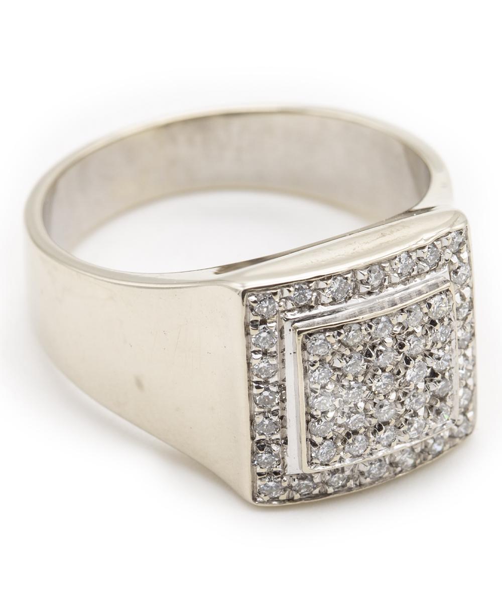 Brillant Ring 750er Weißgold