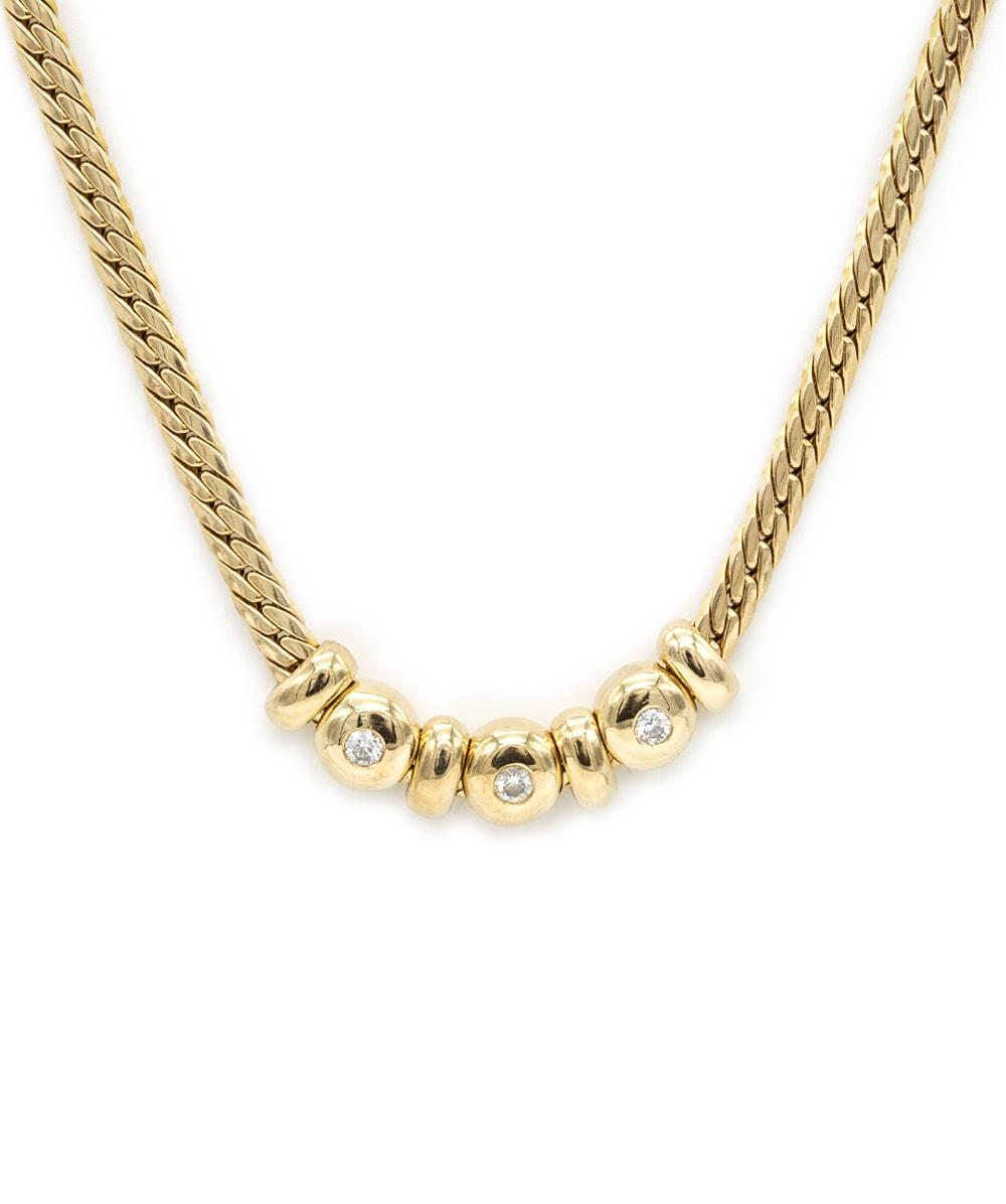 Collier Brillanten 585er Gold