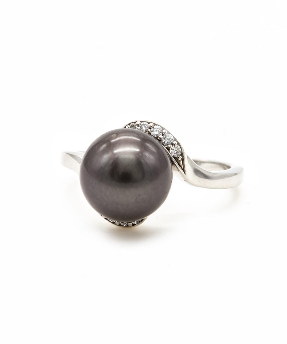 Ring Tahiti-Perle 925er Silber