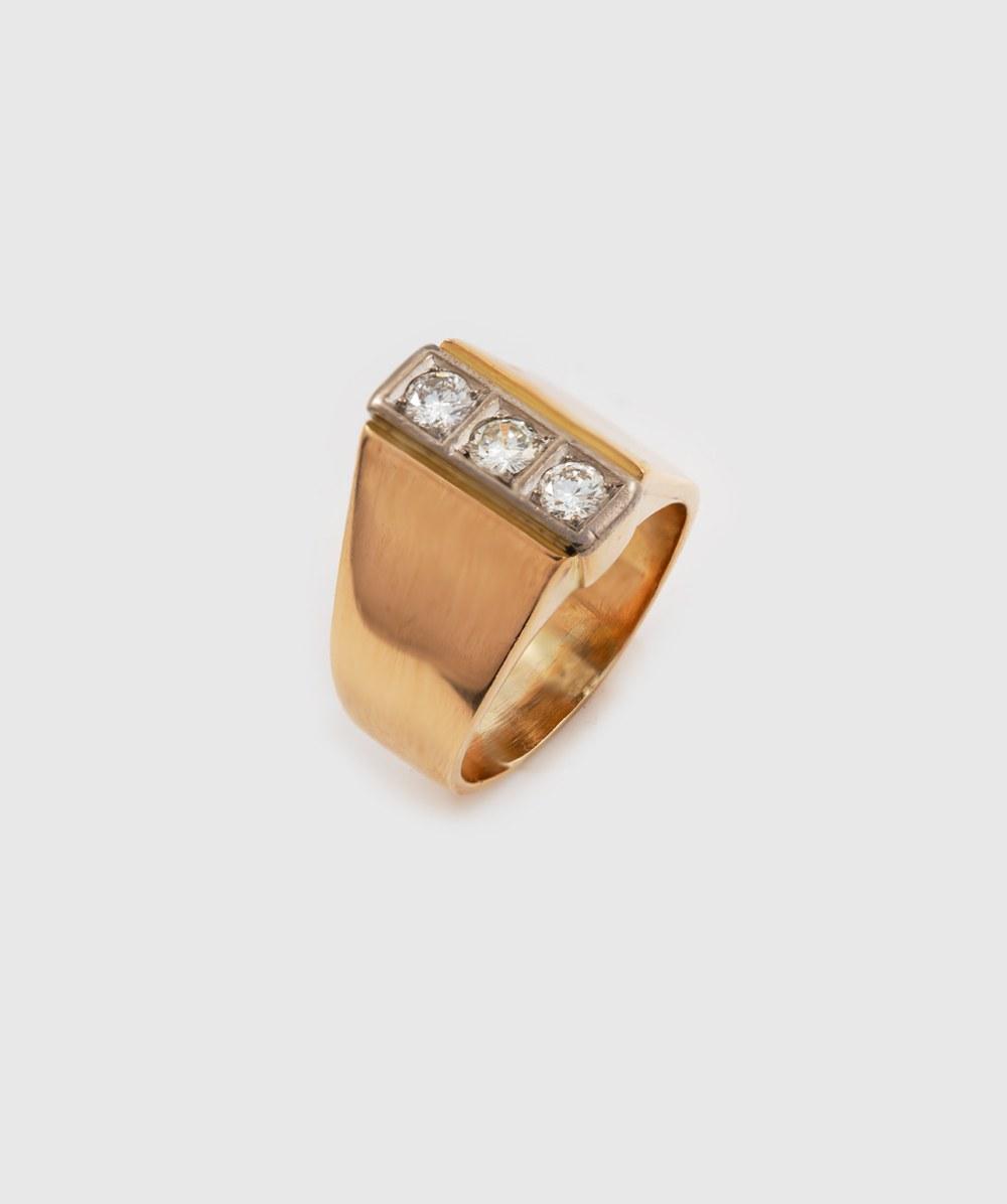 Ring Brillanten 750er bicolor