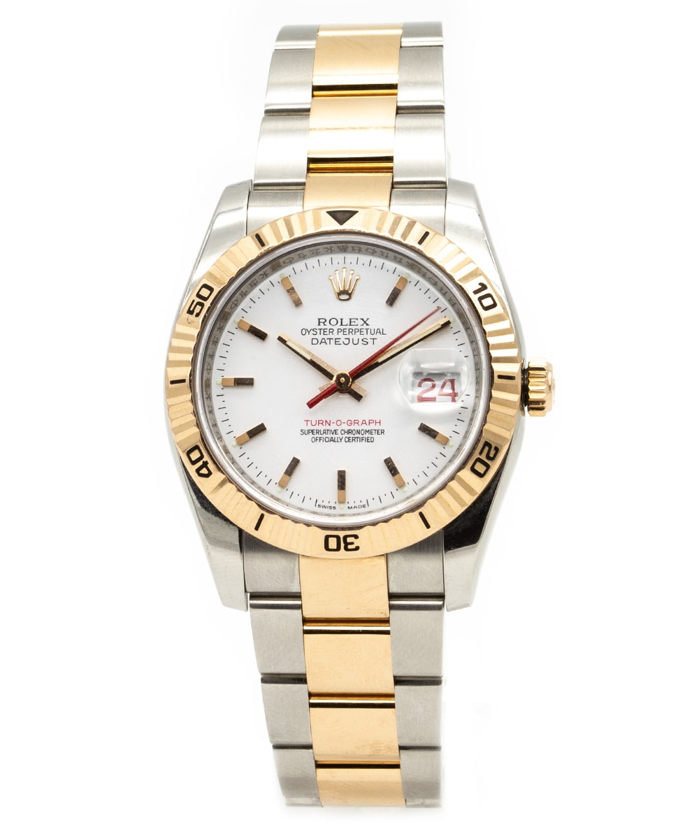 Rolex Datejust Turn-O-Graph Stahl/Gold 116261