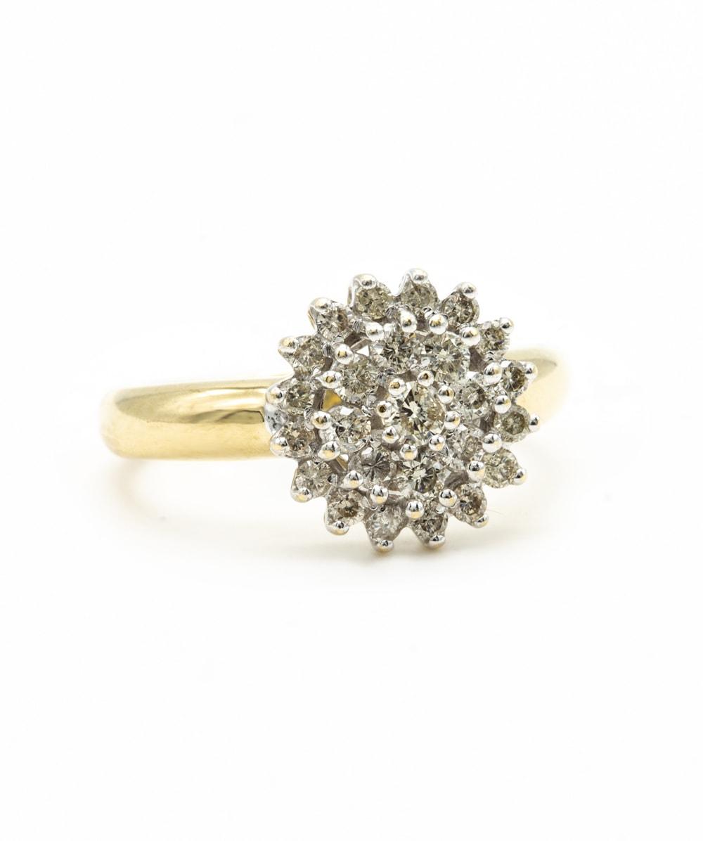 Ring Brillant 375er Gold